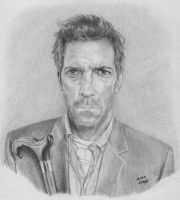 Dr. House by Worldinsideart