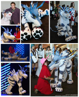 Old Garurumon photo batch by Twister4eva