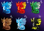 ElementalBabyDragonAdoptables-Cheap- by AnimePeep33
