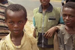 Curious Boys in Ethiopia by vanfoto