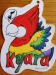 Kyara Badge - C.E. by Sparkle-And-Sunshine