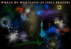 World of Warcraft Spell Brushs by Melodieous