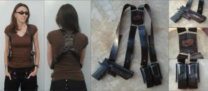 Ammnra's Leather Shoulder Holster by RebelATS