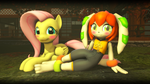 Little doggie and horsie [SFM] by TBWinger92