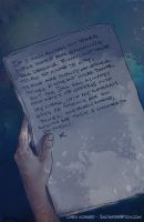 Kassandra's Journal from Saltwater Witch comic by the0phrastus