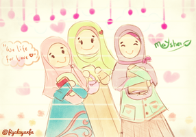 we are muslimah :) by fiyalayanfa2