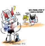 Prowl:- I can't stop it by BloodyChaser