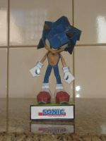 Sonic Papercraft by augustelos