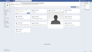[Update 1.2] Redesigning Facebook: News Feed by theIntensePlayer