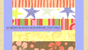 20 SCRAPBOOK TEXTURES by tainee