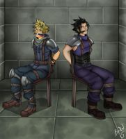 Cloud and Zack Abducted by Bowen12a