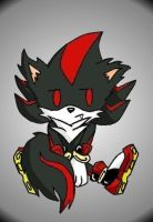 shadow wolf chibi by SHADOW022292