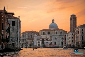 Venetian Sunset by Crystalsm