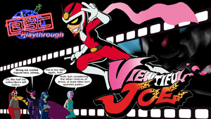BrainScratch Request - Viewtiful Joe Titlecard by ADHedgehog