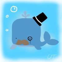 I Whale Like a Sir by Aquarika