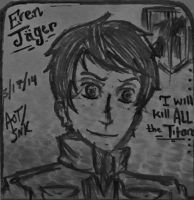 [ATTACK on TITAN] E r e n JAEGER by 6LoveMeCANCEROUSLY9