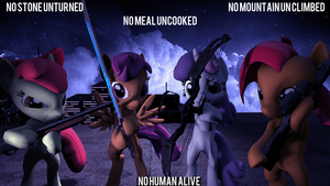 [SFM] Cutie Mark Crusaders...Assasains? by SourceRabbit