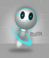 Junior robot by ZackScream