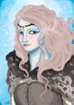 The queen of frost by lakramel