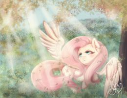 At Ease by PonyMoonMist