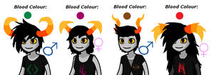 Homestuck Male + Female Fantroll Adoptables CLOSED by Twine-Adopts