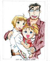 FMA-Hughes Family-Draft by RedandblackShadow