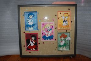 Sailor Moon 3-D art complete by Animeartist1212