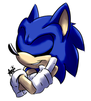 Sonic's the Name.. by Wolfiisaur