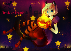 Trick or Treat by littlepolka