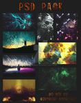 PSD Pack by NephroArt by NephroArt