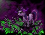 Twilight Sparkle goes overboard with black magic by AndyError