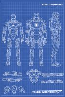Iron Man Blueprints by nickgonzales7