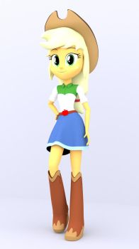 3D Apple Jack by MKevinAdam