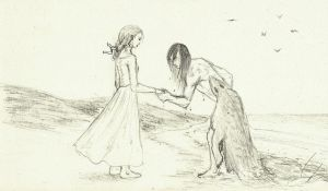 The Maiden and her Selkie by FiveElemenets
