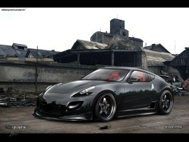 Nissan 370z by edcgraphic