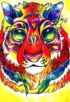 Tiger Dream by ClaraBacou