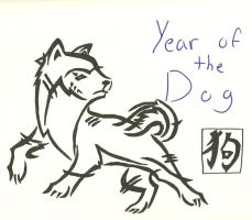 Year of the Dog by mako-chibi