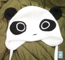Panda hat by The-Cute-Storm