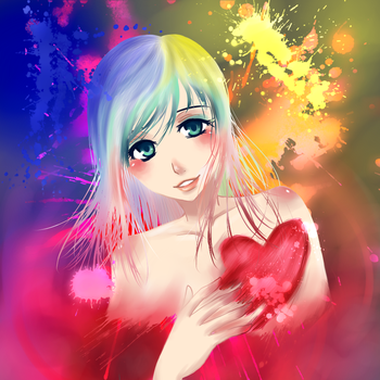 My Colorful Love by silver-yuki
