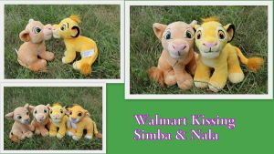 New kissing Simba and Nala by Laurel-Lion