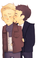 SteveTony by thorxpoptarts