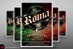 Sounds Of Roma Flyer Poster Template by Thats-Design