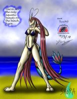 Shora at the beach by Snowfyre