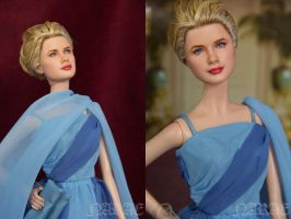 OOAK Grace Kelly Barbie To Catch a Thief by NARAE by naraedoll