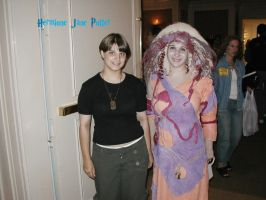 Stargate con Carter and a Nox by Hermione-Jane-Potter