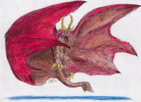 RDX003-Rodan by hewhowalksdeath