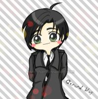 Gerard Way chibi version by Eilyn-Chan