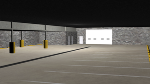 NYPD Police Garage by DySands