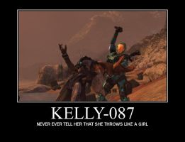 Kelly-087 Demotivational by Vhetin1138