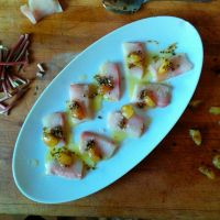 Spring Hamachi Crudo by ThomasVo